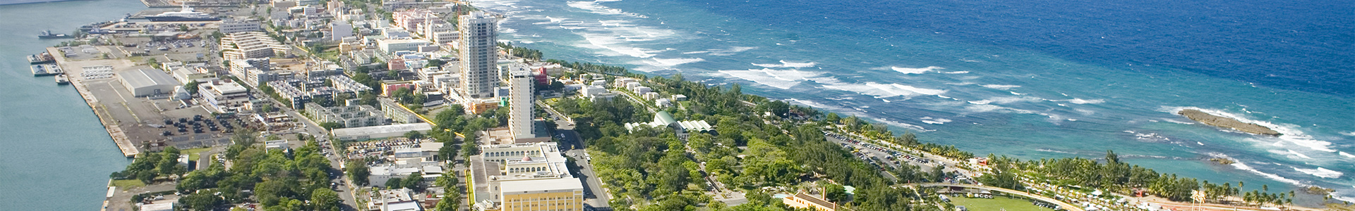 Puerto Rico Aerial Shot